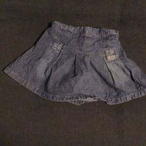 [bcx girl] denim skort (Size: 2/2T)